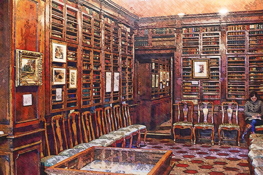 Studies With Keats Photograph