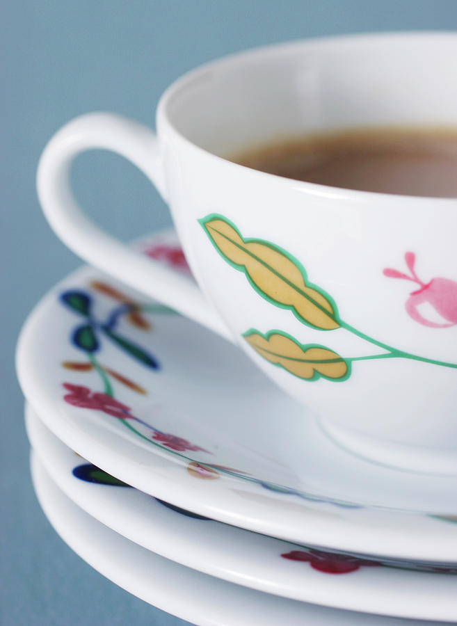 Studio Shot Of Coffee Cup Photograph by Johner Images