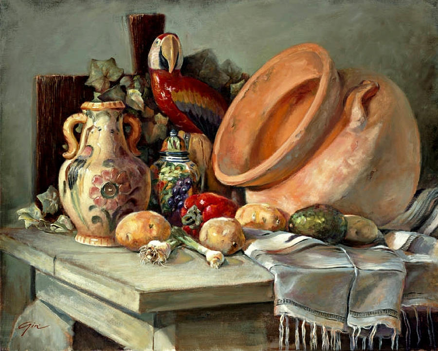 Still Life Painting - Studio Still Life by Gini Heywood