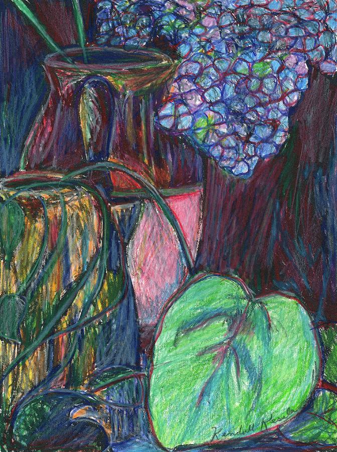 Still Life Drawing - Studio Still Life by Kendall Kessler