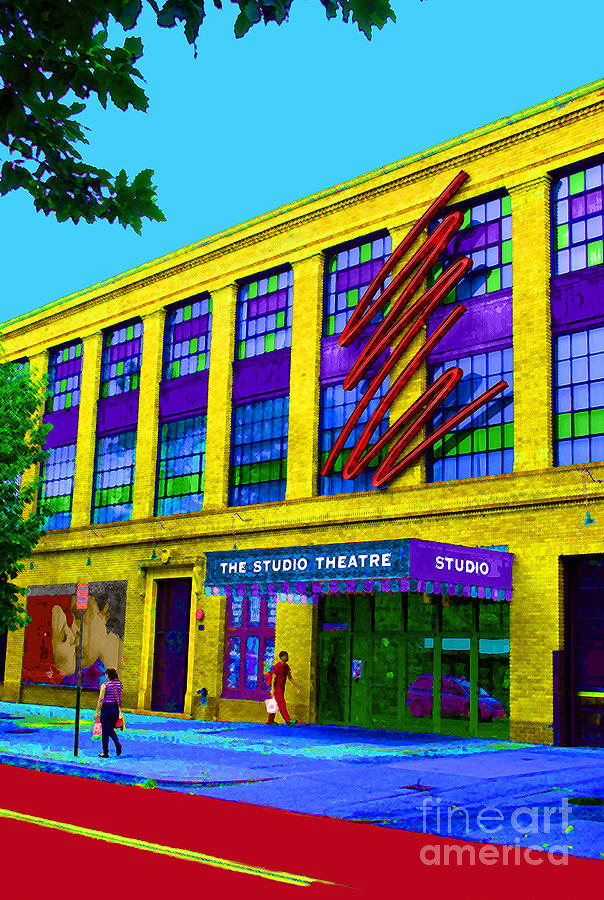 Studio Photograph - Studio Theatre Washington Dc by Jost Houk
