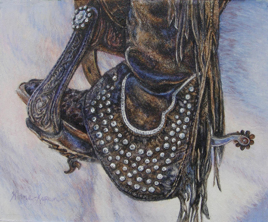 Studs Spurs and Worn Leather by Denise Horne-Kaplan