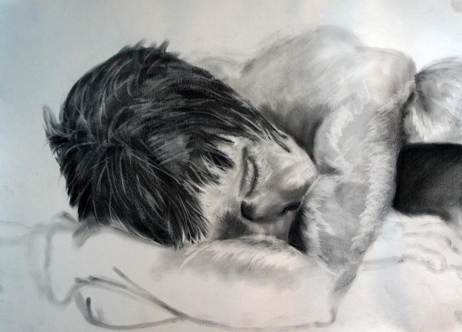 Nude Drawing - Study by Corina Bishop