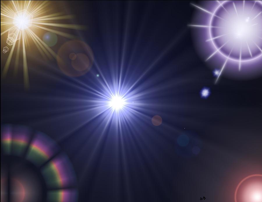 Light Digital Art - Study Of Light by Steve Hermann