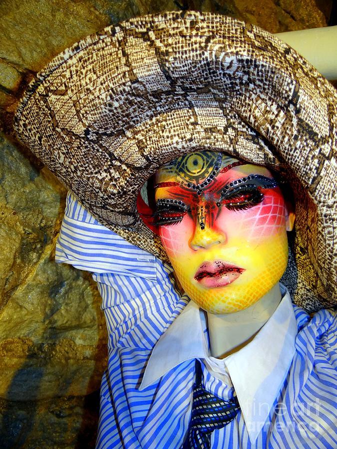 Mannequins Photograph - Stunning In Snakeskin by Ed Weidman