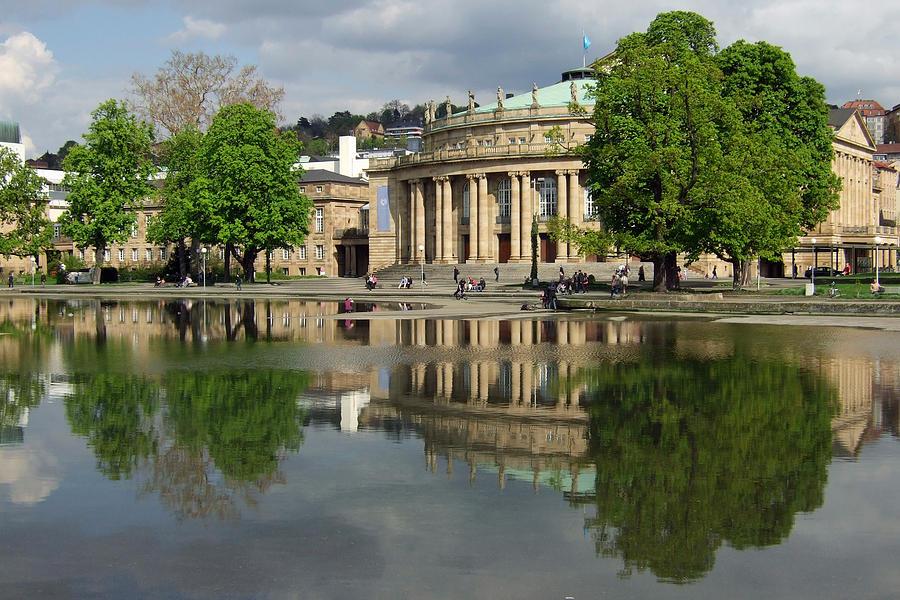 Stuttgart Staatstheater Staatsoper Opera Theatre Germany Photograph