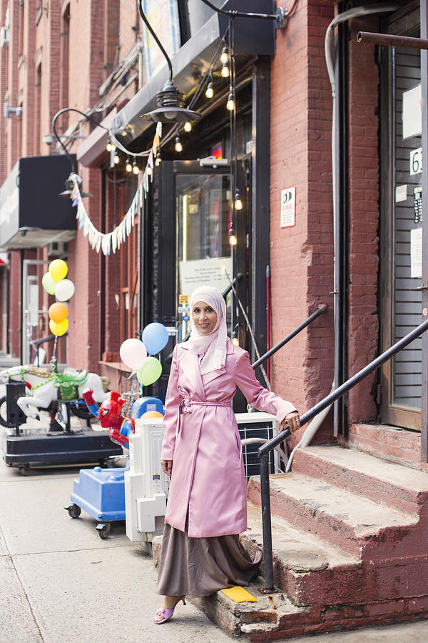 Stylish #muslimgirl In Pink Photograph by Muslim Girl