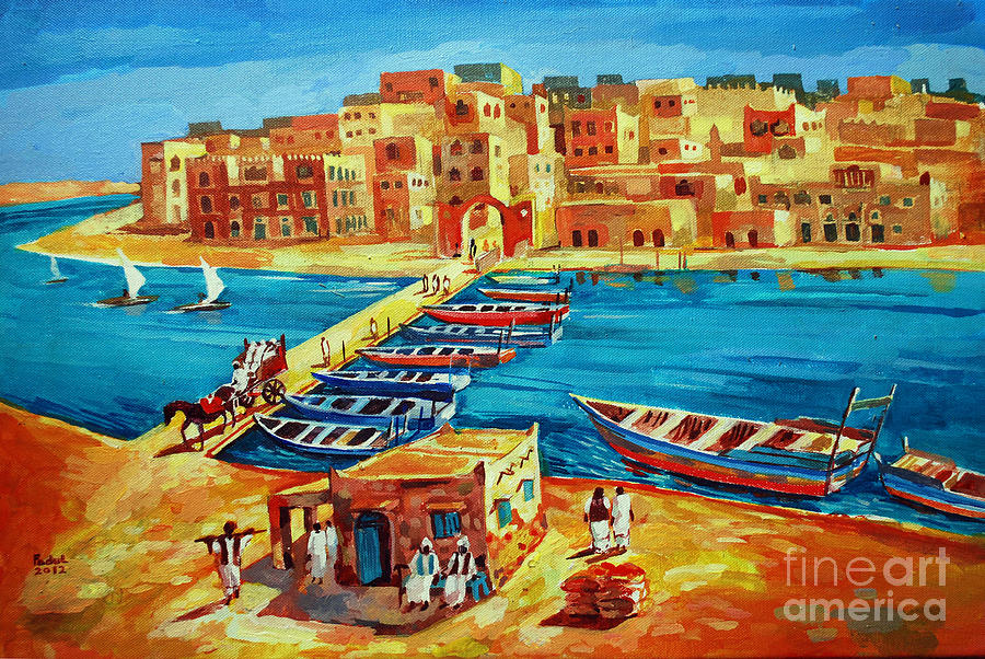 Suakin 41 Painting by Mohamed Fadul