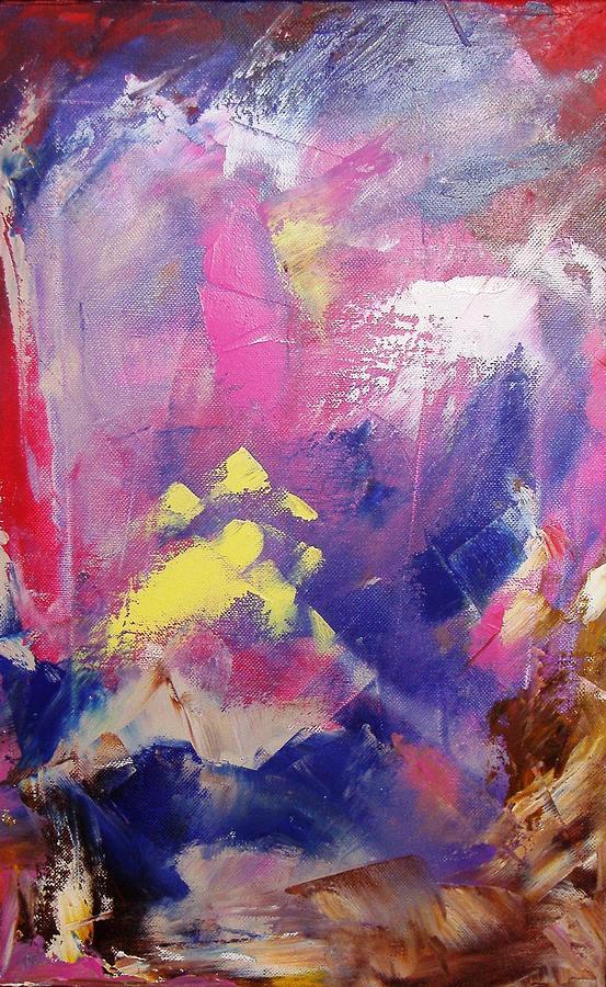 Subconscious Painting - Subconsciously by Nina Mitkova