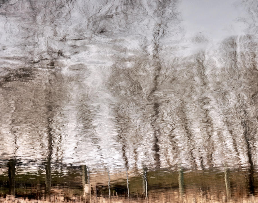 Abstracts Photograph - Subdued Reflection by Steven Milner