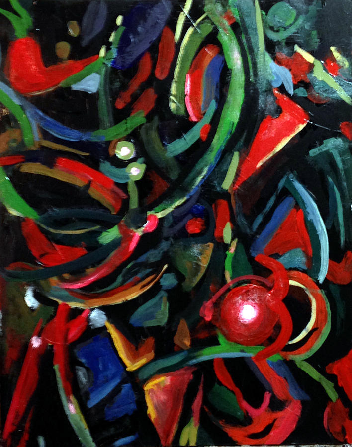 Abstract Painting - Subjecution by W  Scott Fenton