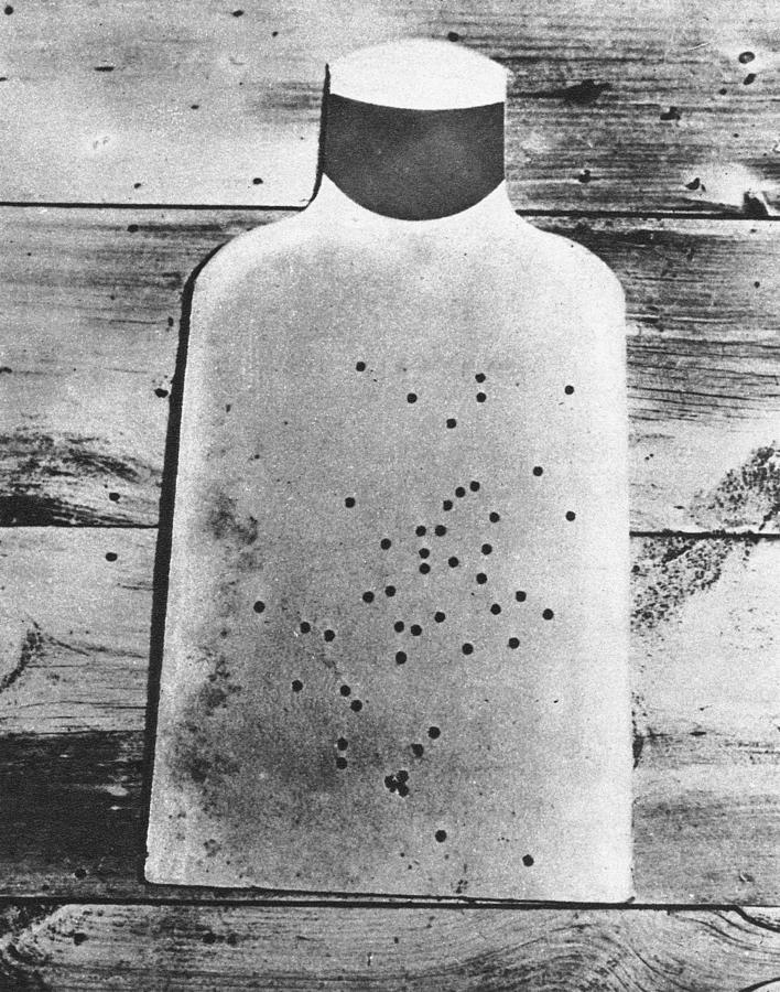 1920 Photograph - Submachine Gun, 1920 by Granger