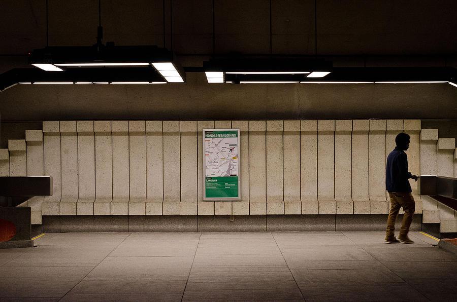 Urban Photograph - Subterraneans 2013 by Eric Soucy