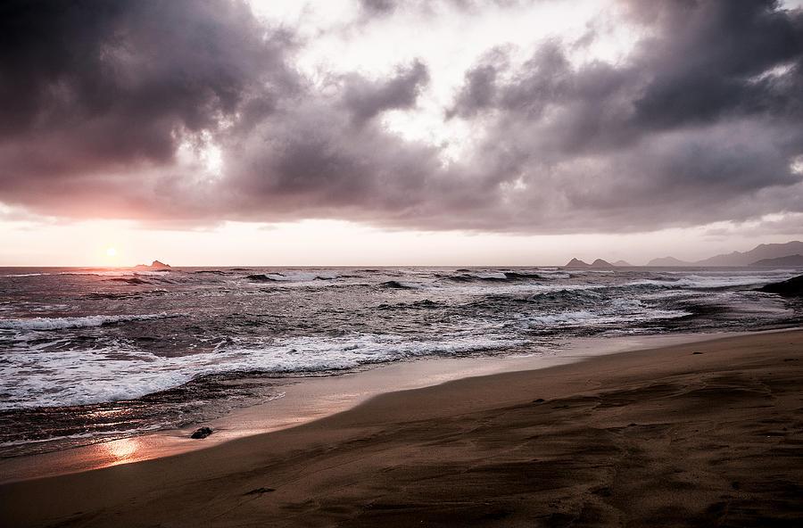 Landscape Photograph - Subtle Purple by Jason Bartimus