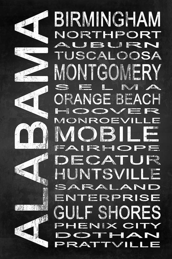 Al Digital Art - Subway Alabama State 1 by Melissa Smith