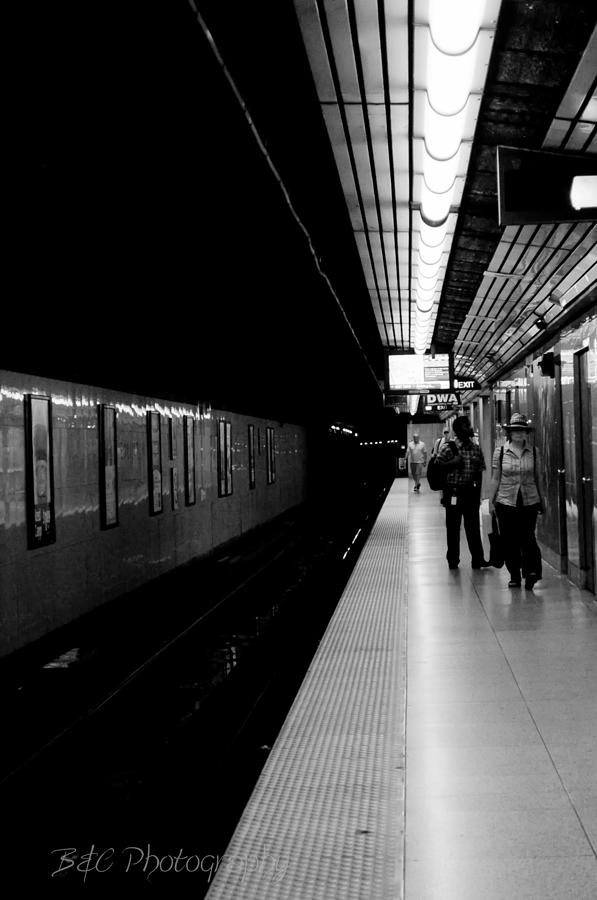 Subway Photograph - Subway by BandC  Photography