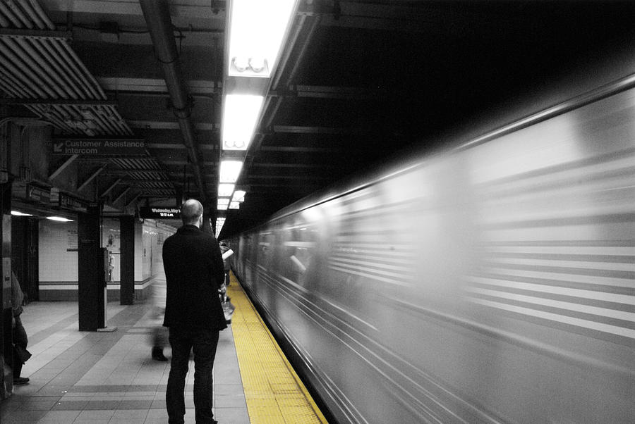 Subway Photograph - Subway by Enrique  Coloma