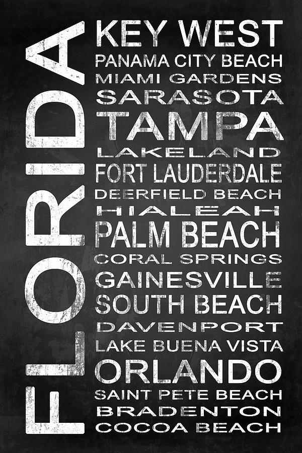 Subway Sign Digital Art - Subway Florida State 3 by Melissa Smith
