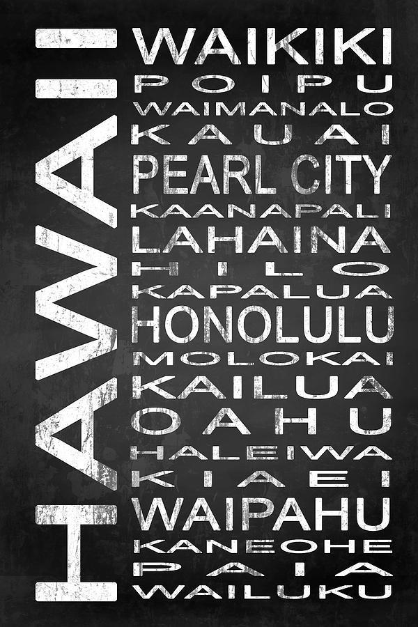 Subway Hawaii State 1 Digital Art