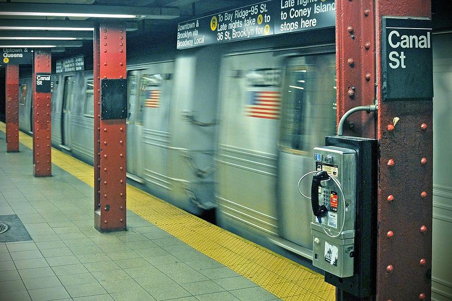 New York City Photograph - Subway by Paul Van Baardwijk