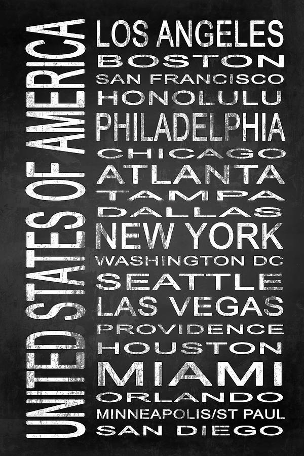Artwork Digital Art - Subway United States 1 by Melissa Smith
