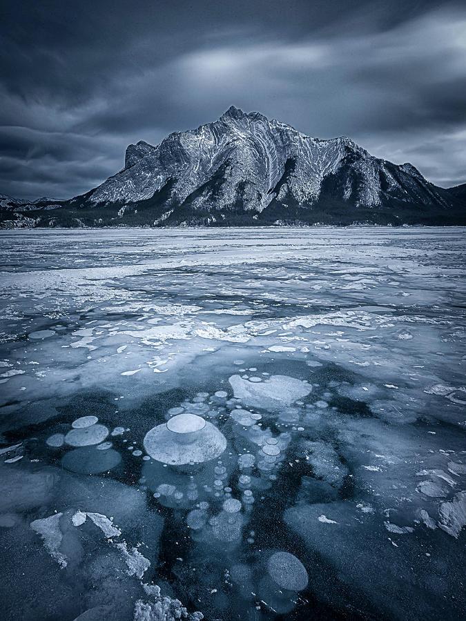 Winter Photograph - Subzero by Michael Zheng
