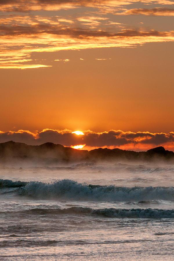 Sunrise Photograph - Subzero Sunrise by Joshua Blash