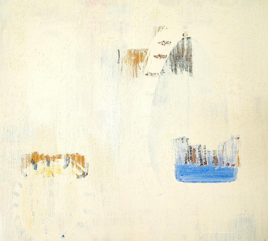 Abstract Mixed Media - Sudden Doors by Sue McElligott