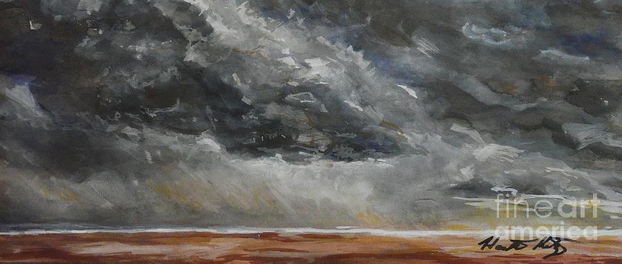 Mixed Media Painting - Sudden Storm by Heather Kertzer