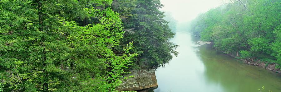 Horizontal Photograph - Sugar Creek, Turkey Run State Park by Panoramic Images
