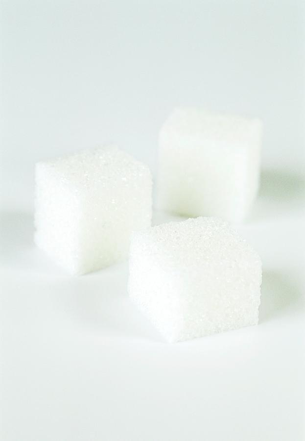 Sugar Photograph - Sugar Cubes by Gustoimages/science Photo Library
