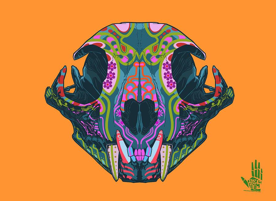 Lynx Digital Art - Sugar Lynx  by Nelson dedos Garcia