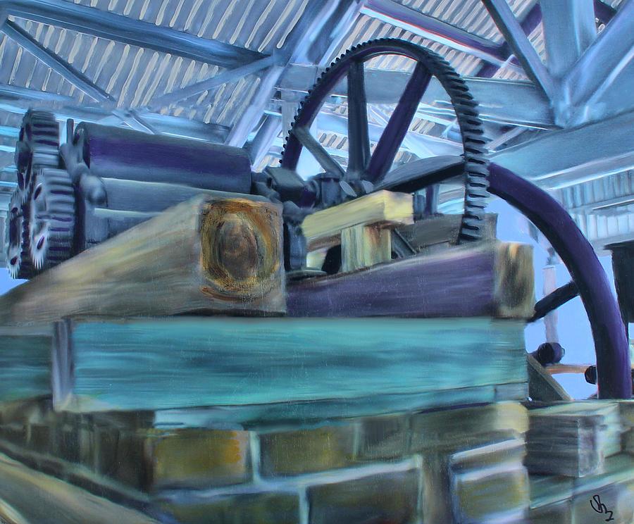 Sugar Mill Mixed Media - Sugar Mill Gizmo by Deborah Boyd