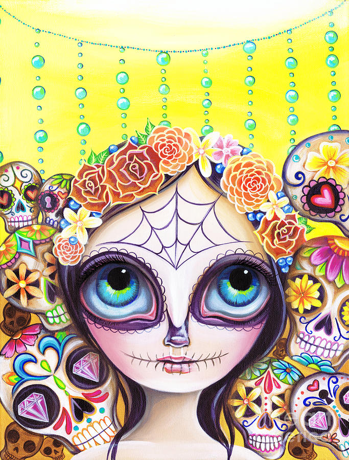 Sugar Skull Princess by Jaz Higgins