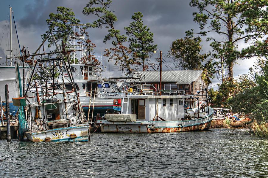 Old Boats Photograph - Sugaree And Miss C by Lynn Jordan