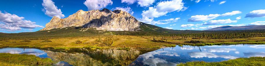 Landscape Photograph - Sukakpak Reflection by Chad Dutson