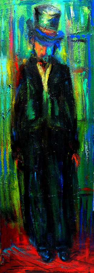 Abstract Painting - Sullen  by Marina R Burch