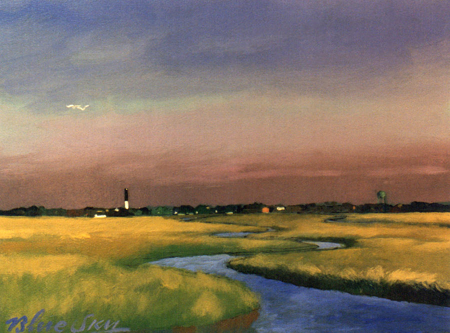 Sullivan's Island Painting - Sullivans Island by Blue Sky