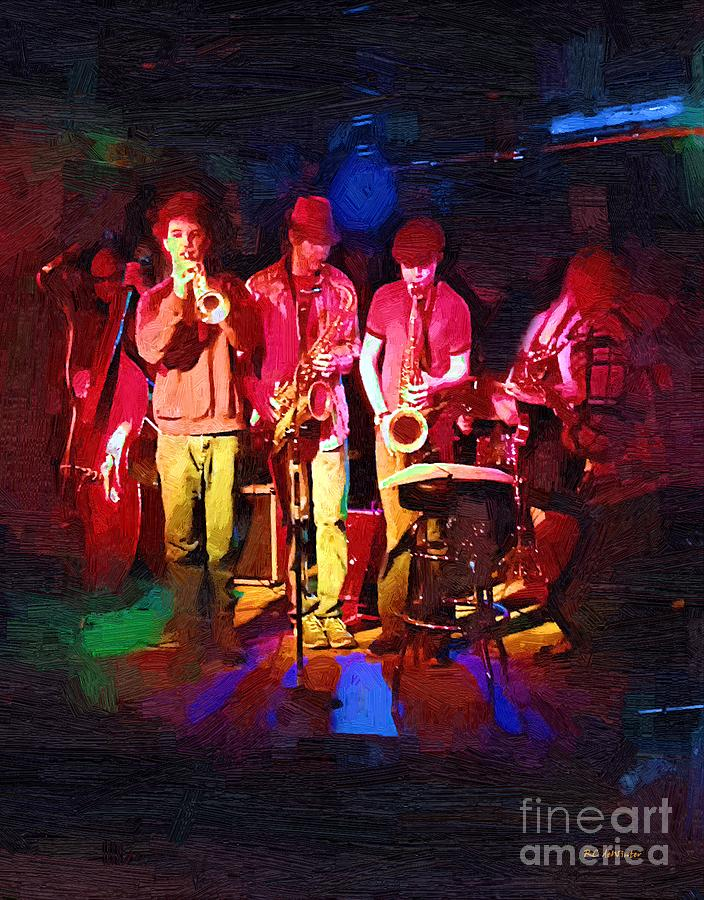 Band Painting - Sultans Of Swing by RC DeWinter