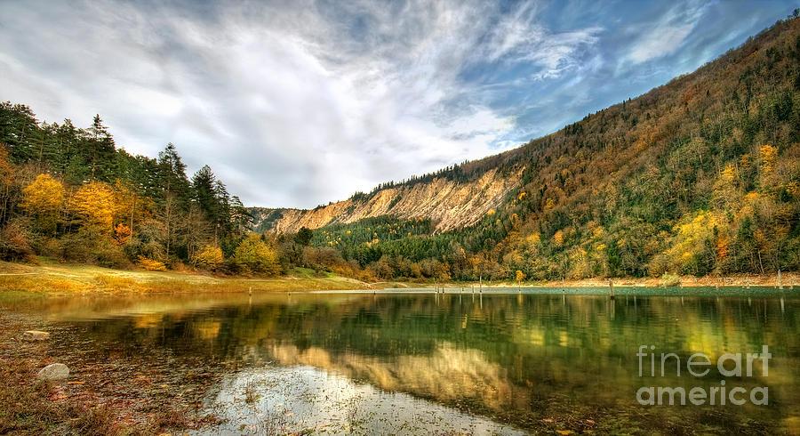 Suluklu Photograph - Suluklu Lake by Leyla Ismet