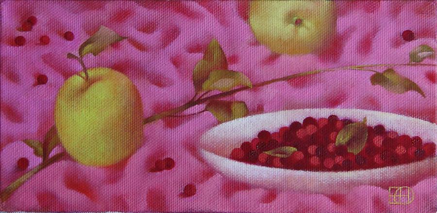 Still Life Painting - Summer Still Life by Nadia Egorova