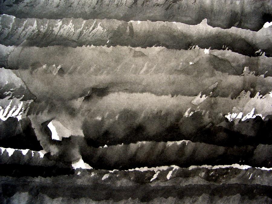 Sumi Drawing - Sumi-e 121228-3 by Aquira Kusume