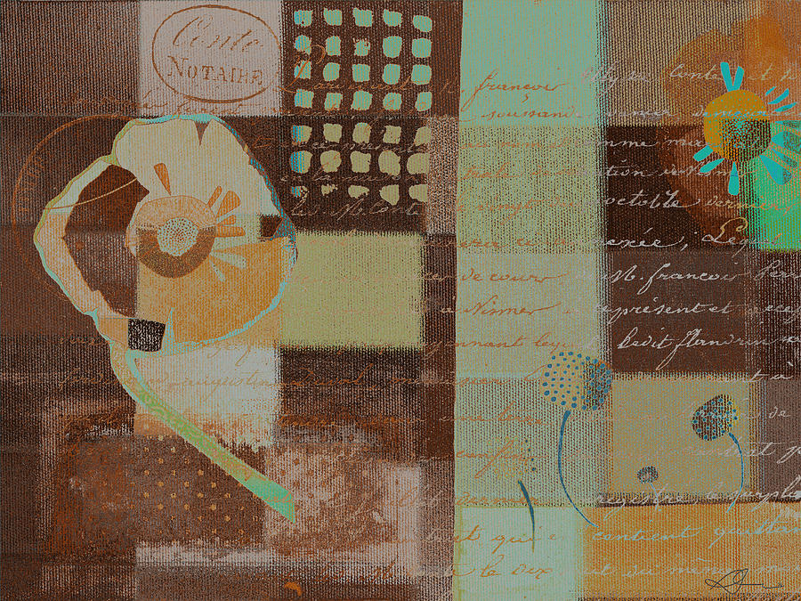 Brown Painting - Summer 2014 - J088097112-brown01 by Variance Collections