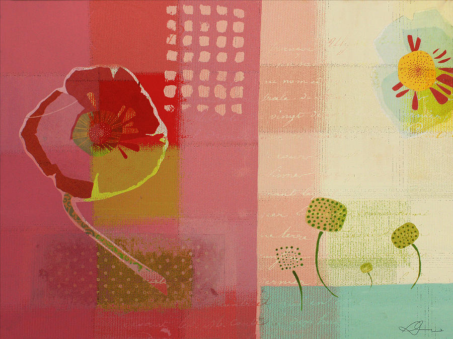 Pink Painting - Summer 2014 - J103112106b by Variance Collections