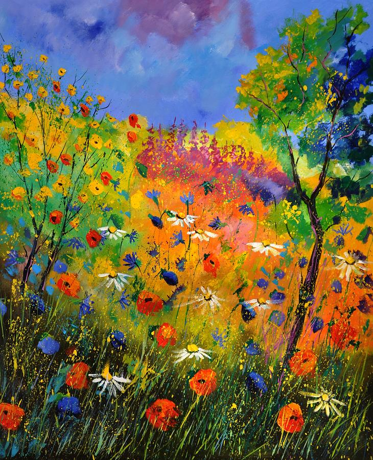 Landscape Painting - Summer 2014 by Pol Ledent