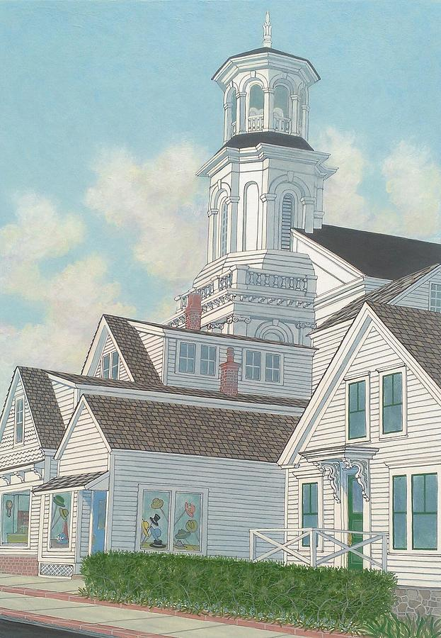 Cape Cod Painting - Summer Afternoon  by David Hinchen