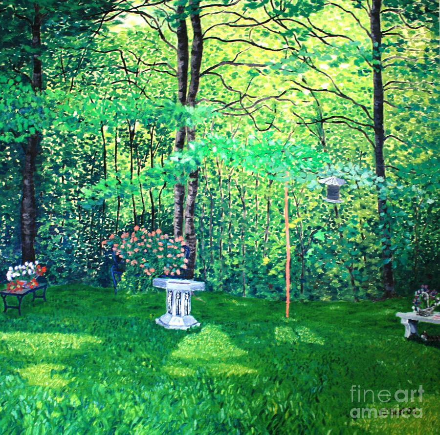 Summer afternoon by Janice Best