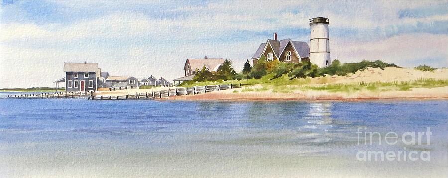 Summer Painting - Summer At Sandy Neck by Karol Wyckoff