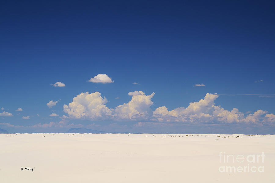 Sand Photograph - Summer At White Sands National Monument by Roena King