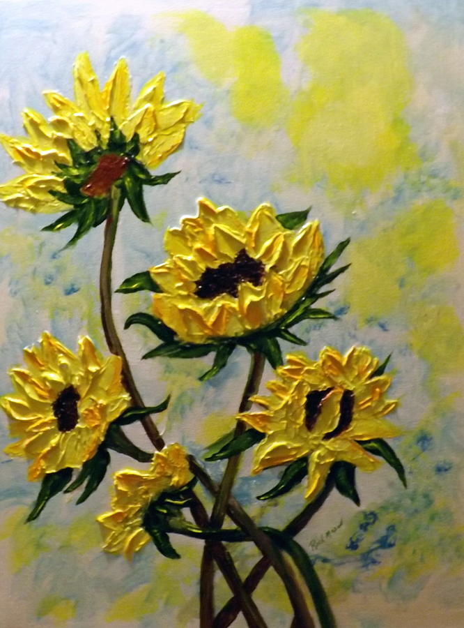 Flowers Painting - Summer Color by Rich Mason